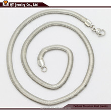 5mm Necklaces Snake neck Chains Jewelry Wholesale Stainless Steel Chain