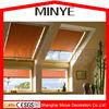 Austrialia market aluminum skylight roof glass window with sunshade screen