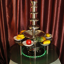 CHOCOLAZI ANT-8145L Rotatable New surround Led Desk for commercial chocolate fountain (ANT-8245)