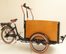 Aluminium alloy frame family cargo use three wheel reverse tricycle/bike