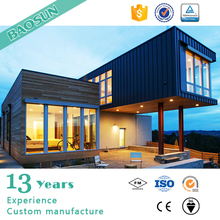 Iprefab Wooden Container House with Bathroom Modular Home Luxury Villa