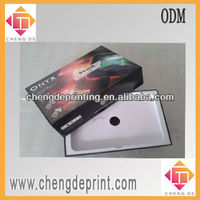 """7"""" tablet pc box packaging tablet gift box with paper inlay tray"""