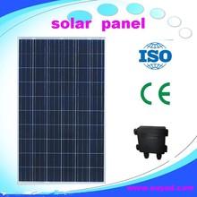 250W polycrystalline solar panel/solar panel price list