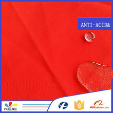 100cotton oil and gas industry safety clothing textile water resistant fabric