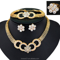 >>> 2015 Hot Sale gold plated ring ,bracelet , necklace ,earrings , Custom African Gold Plating Jewelry Sets Wholesale /