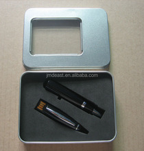 Promotional metal usb pen with custom logo all kinds of packaging