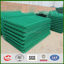 hot sale best price pvc coated wire mesh fence