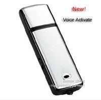 4GB USB Keychain Style Digital Voice Recorder