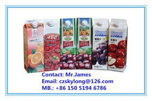 Gable Top Carton Liquid Packaging