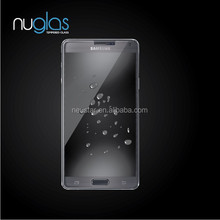 For samsung mobile phone spare parts,Nuglas tempered glass film screen protector for Samsung Note 4