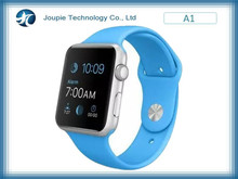 Joupie-A1 cheap android 3g hand phone watch with 1.54 inch screen , gsm smartwatch intelligent