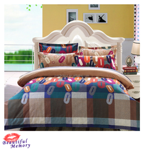 Wholesale chinese style full size plain dyed printed satin polyester pillowcase/bed sheet/ duvet cover