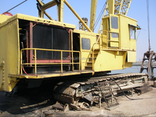 shanghai used condition good Manitowoc 300t crawler crane for sale / kobelco crawler crane with excellent condition