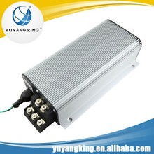 Intelligent pwm dc motor electronic speed controller for electric vehicles