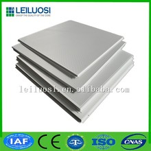 Aluminum ceiling hard strehgth sound-absorbing lay-in ceiling