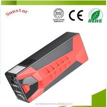 Hot sale 12v high capacity16800mah multifunction jump starter battery charger pack