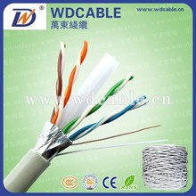 Guangdong Cable Factory cat6 FTP lan cable 0.5mm CCA