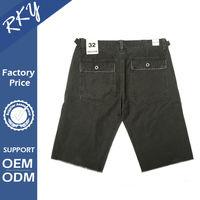 Unique Design Quick Dry Mens Shorts With Acid Wash