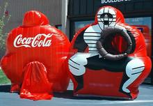 new design inflatable baseball pitch, inflatable baseball toss