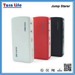 Mini Emergency 12000mAh 9900mah Multi Function Car Charger Jump Starter Booster Battery