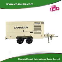 Ingersoll-rand Doosan portable diesel screw air compressor--750 CFM - 825 CFM 8.6bar pressure