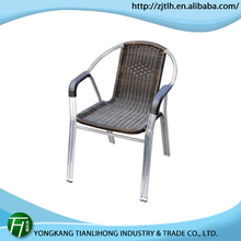 high quality cast aluminum lounge chair/aluminum dinning chair
