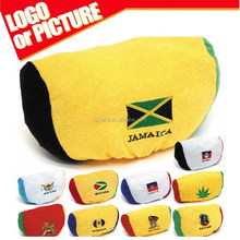 hot sell 2015 Americas Cup printed Chile Jamaica national flag car seat headrest cover polyester stadium seat covers