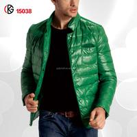 Men Gender and 100% Polyster Down Filling Material Jcket Coat 2014-15038