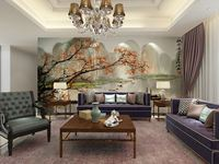 wholesale wallpaper china Eco-friendy 3d mural Chinese landscape for background sofas tv murals wall decor