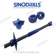 SINODRILLS R38N-19 SDA MAI Micropiles galvanized soil nailing