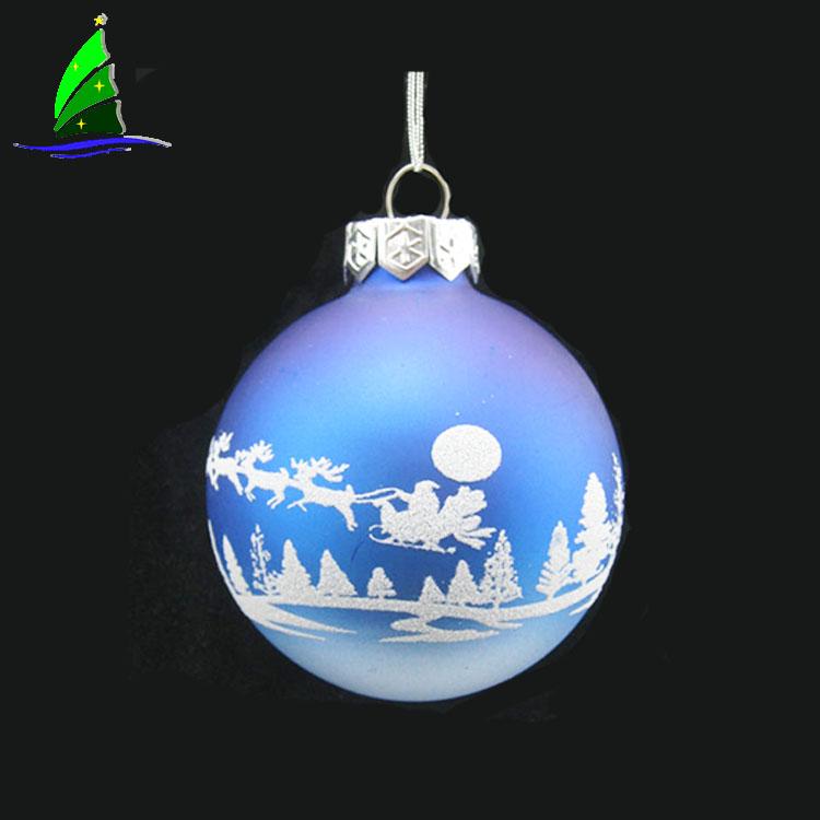 Artdragon al por mayor árbol de Navidad adorno Diy dentro de vidrio adornos de Navidad bolas venta