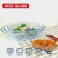 Borosilicato vidrio de Pyrex para hornear ( oval, cuadrado, rectángulo )