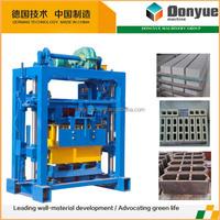 QT40-2 hollow cement block making machine for sale / small scale concrete block making machine
