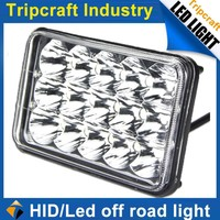 Black spotlight motorcycle/bike 45W LED WORK LIGHT for 4WD SUV/Truck