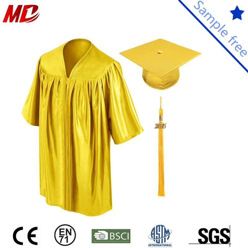 gold shiny children graduation cap and gown_.jpg