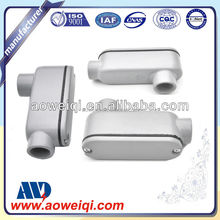 Aluminum LB emt conduit body