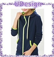 100 cotton plain black women's pullover hoodies cheap plain black hoodies custom sports hoodies