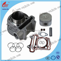 Chinese motorcycle parts cylinder block comp factory GY6-125-1 cylinder block comp for engine cylinder block