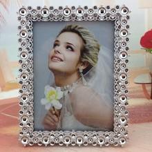 Marcos de fotos de plata plástico ABS marco de la foto del marco de la boda del hogar marco de imagen marco de fotos funia