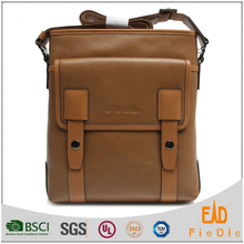CSQJB011-001 2015 best selling famous brand guangzhou fiedle leather crossbody men business bag