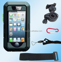 2015 New Touch Screen IPX8 8M Mobile phone Waterproof Bike Mount Bag Diving Case for iPhone6 Plus 4s 5 5s Protective Bag Mount