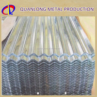 ASTM A653M Galvanized Zinc Metal Iron Steel Roofing Tile