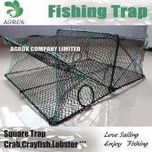 Folding Square Trap Crayfish Trap Crab Cage