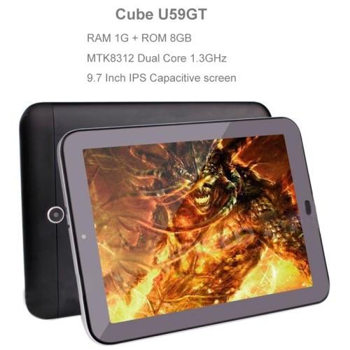 Планшетный ПК Cube U59GT Talk97S 9,7/3g Android 4.2 MTK8312 1,3 ROM 8 1 Dual SIM WCDMA