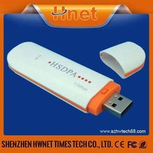 H PA 7.2Mbps usb 3g wireless modem with Qualcomm chipset