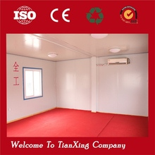 China Cargo Concise low-cost modular house finishied house for office/classroom/dormitory