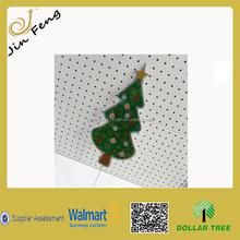Hot Sales Plastic Corrugated Christmas Tree Yard Stake/Yard PVC Garden Stake