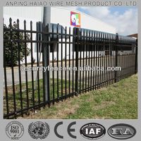 Professional worldwide high quality new style tubular steel fence