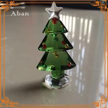 little glass christmas tree, artificial christmas tree decoration