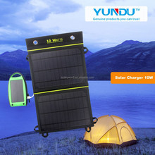 NEW VERSION!!! Portable 10 watts warterproof semi flexible solar panel, Solar Power Bank for mobile phone